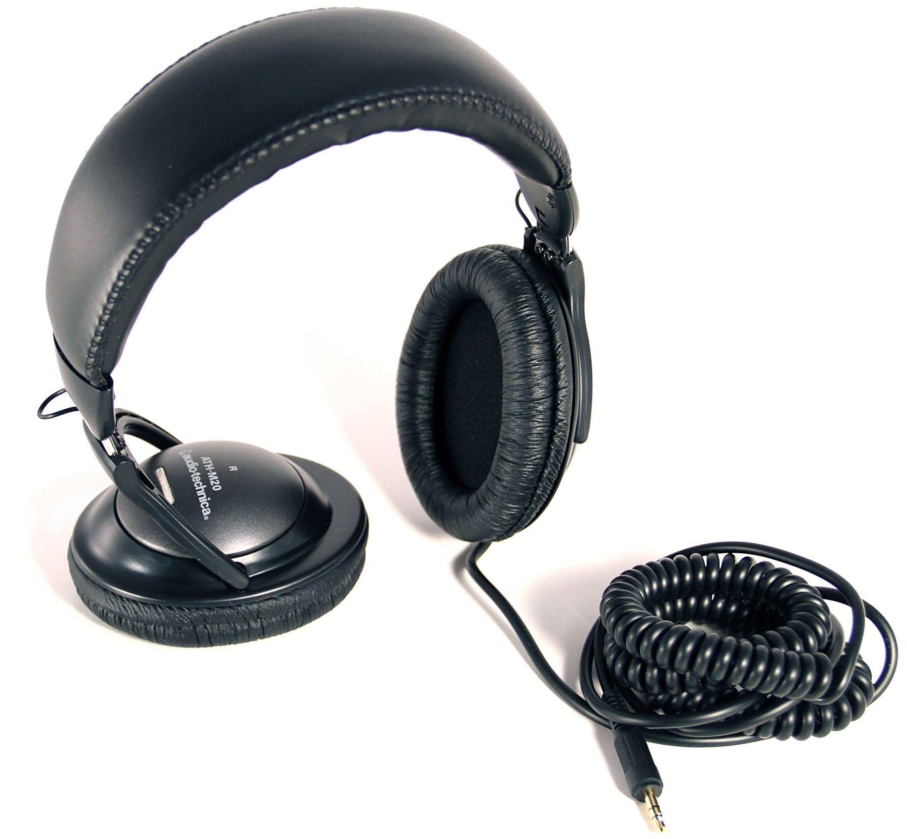 Слушалки Audio-Technica ATH-M20 - 4