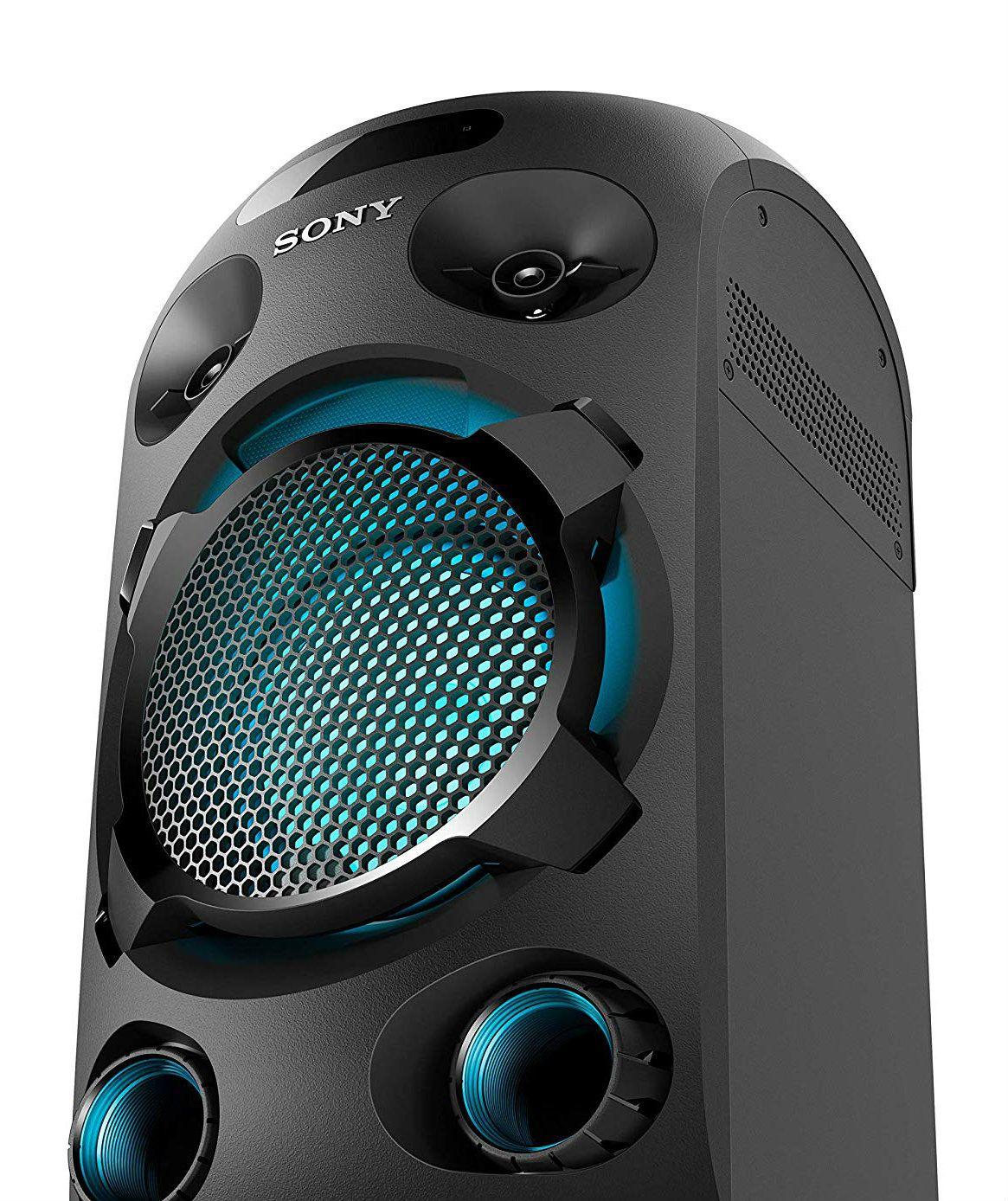 Аудио система Sony - V02, черна - 4