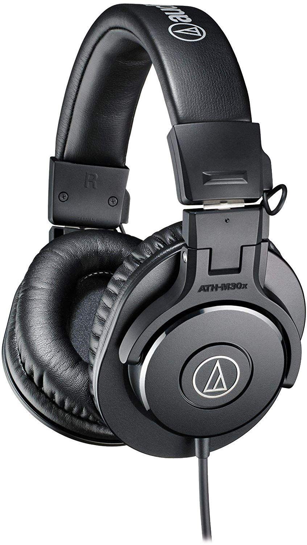 Слушалки Audio-Technica ATH-M30x - черни - 1