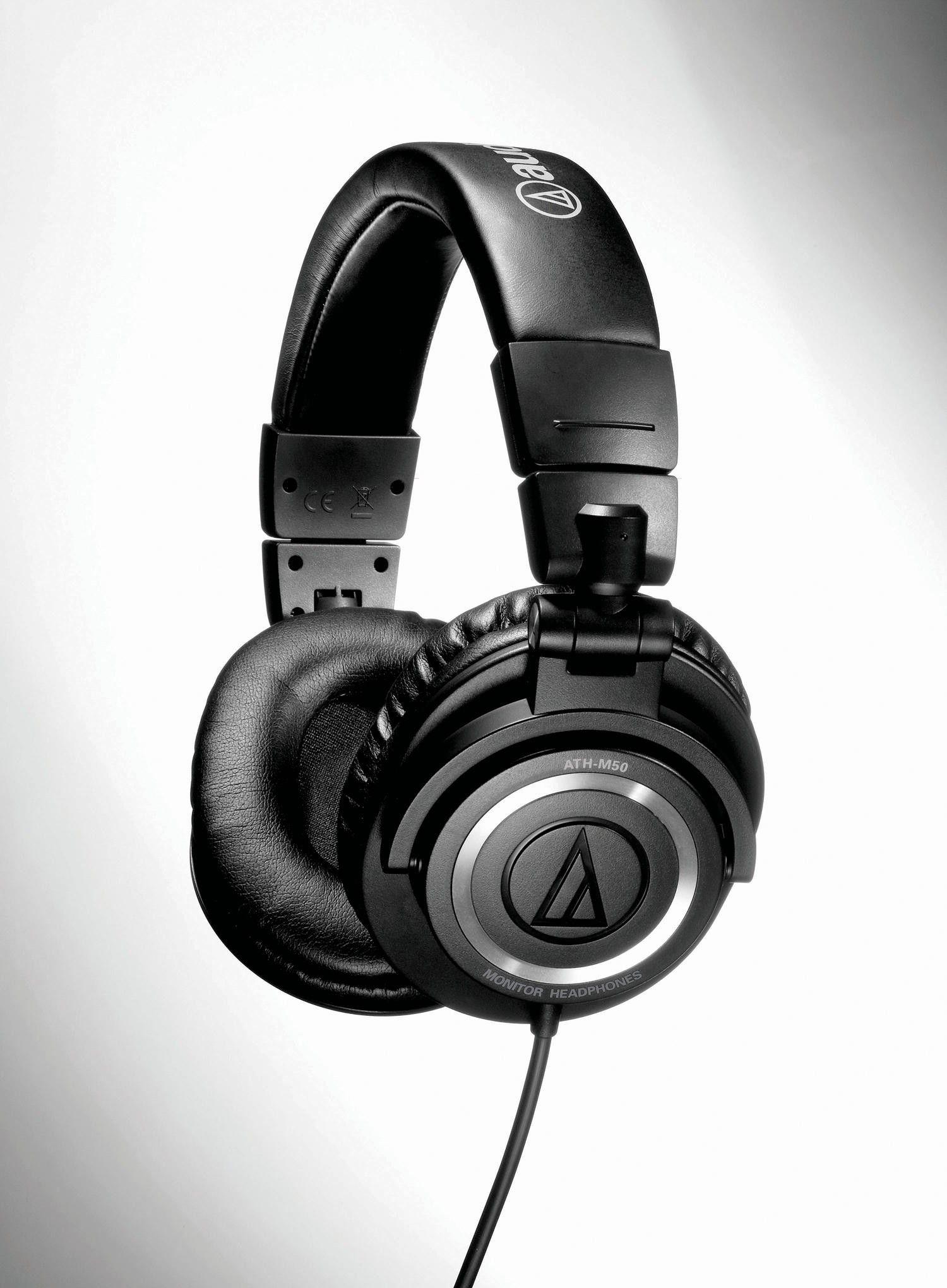 Слушалки Audio-Technica ATH-M50 - черни - 3