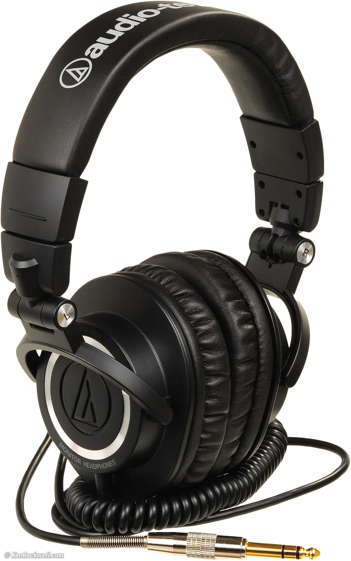 Слушалки Audio-Technica ATH-M50 - черни - 2