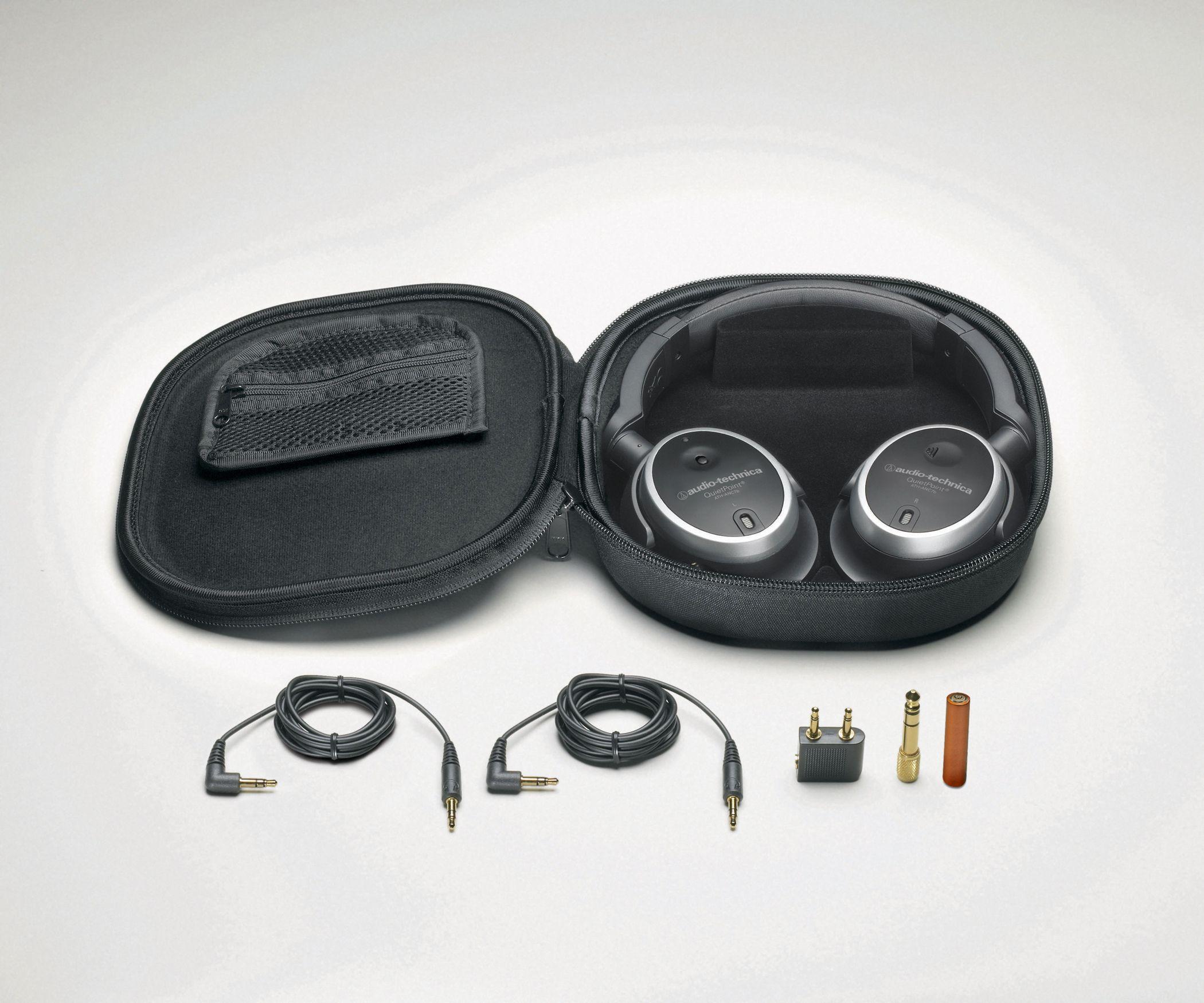 Слушалки Audio-Technica ATH-ANC7b - 2