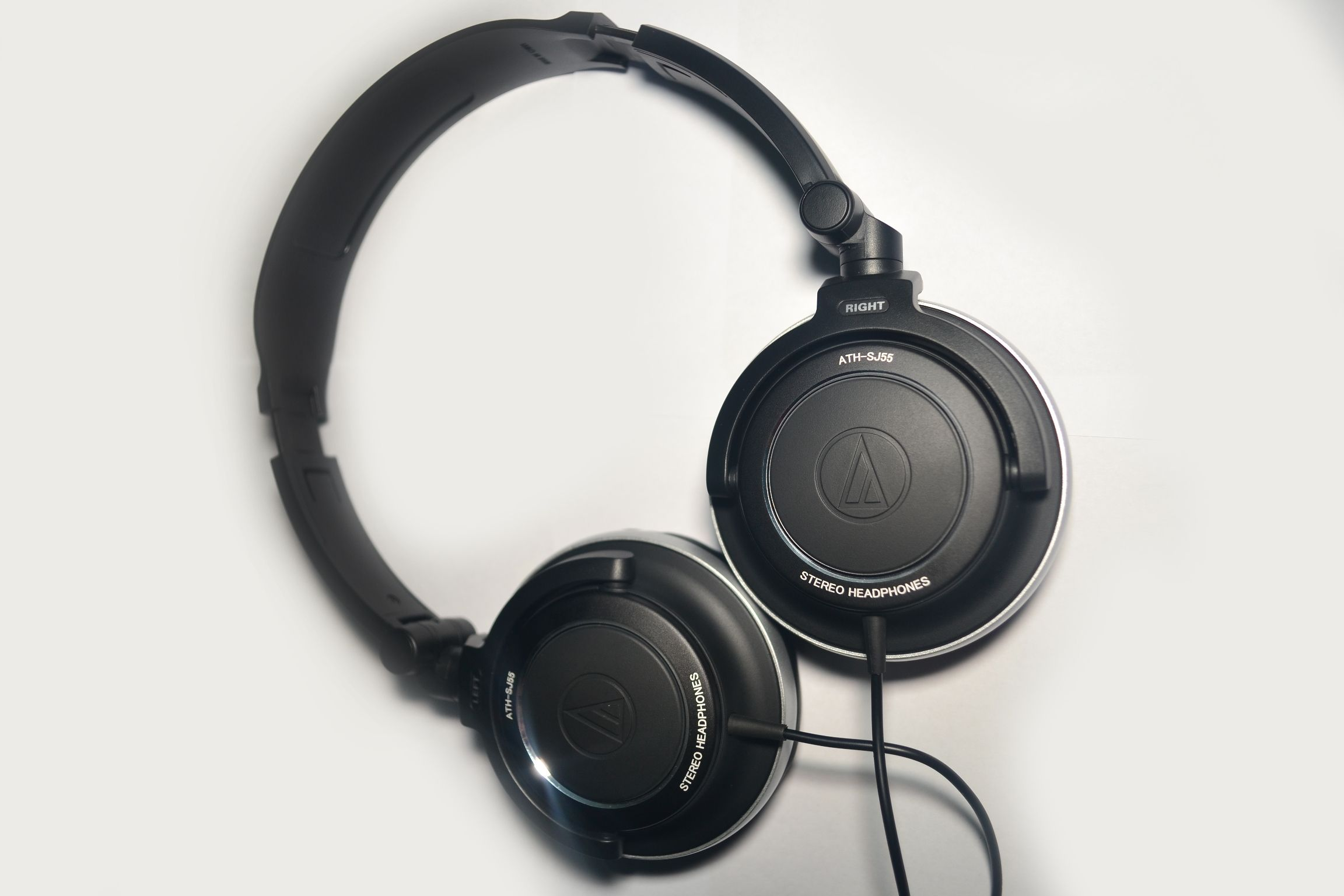 Слушалки Audio-Technica ATH-SJ33 - черни - 2