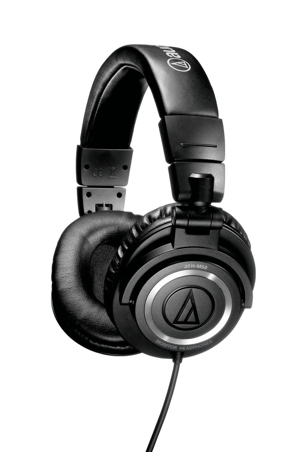 Слушалки Audio-Technica ATH-M50 - черни - 1