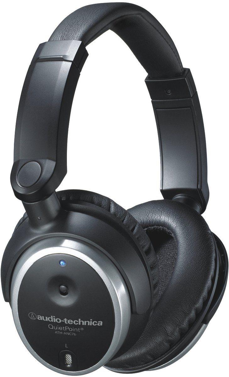 Слушалки Audio-Technica ATH-ANC7b - 1
