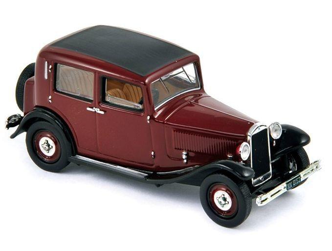 Авто-модел Lancia Augusta 1939 Bordeaux & Black - 1