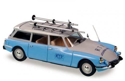 Авто-модел Citroеn ID break RTF bleu clair 1963 - 1