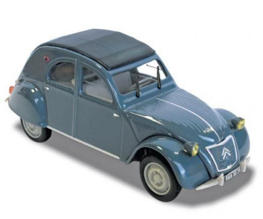 Авто-модел Citroën 2CV AZLP 1960 - Bleu Glacier - 1