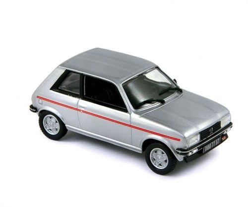 Авто-модел Peugeot 104 ZS 1979 grey - 1