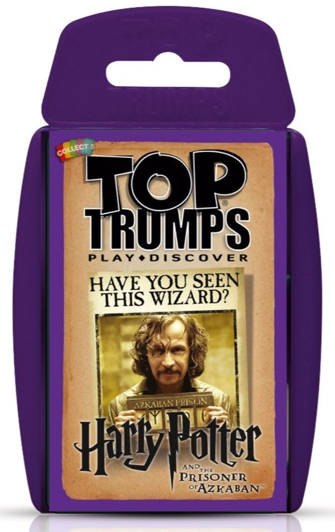 Игра с карти Top Trumps - Harry Potter and The Prisoner of Azkaban - 1