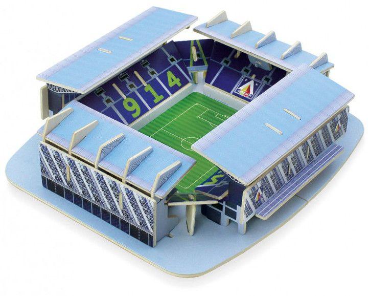 Дървен 3D пъзел Robo Time от 58 части – стадион Левски - 1