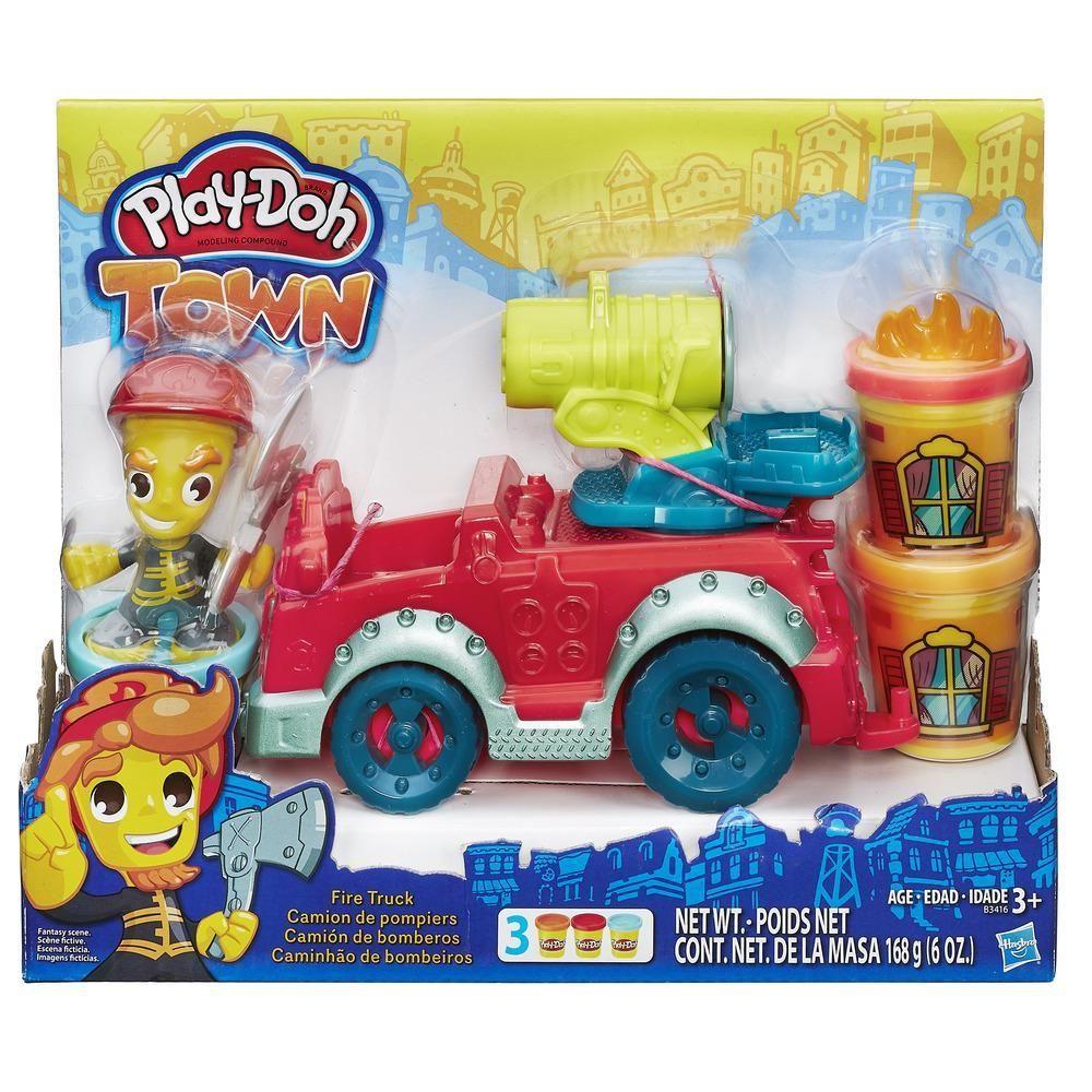 Play Doh Town - Противопожарен камион - 5