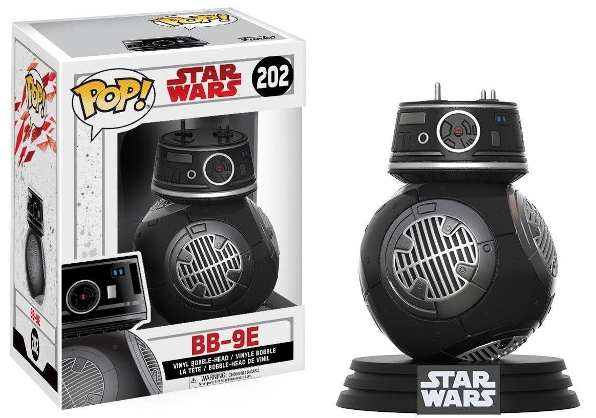 Фигура Funko Pop! Star Wars: The Last Jedi - Bb-9E, #202 - 1