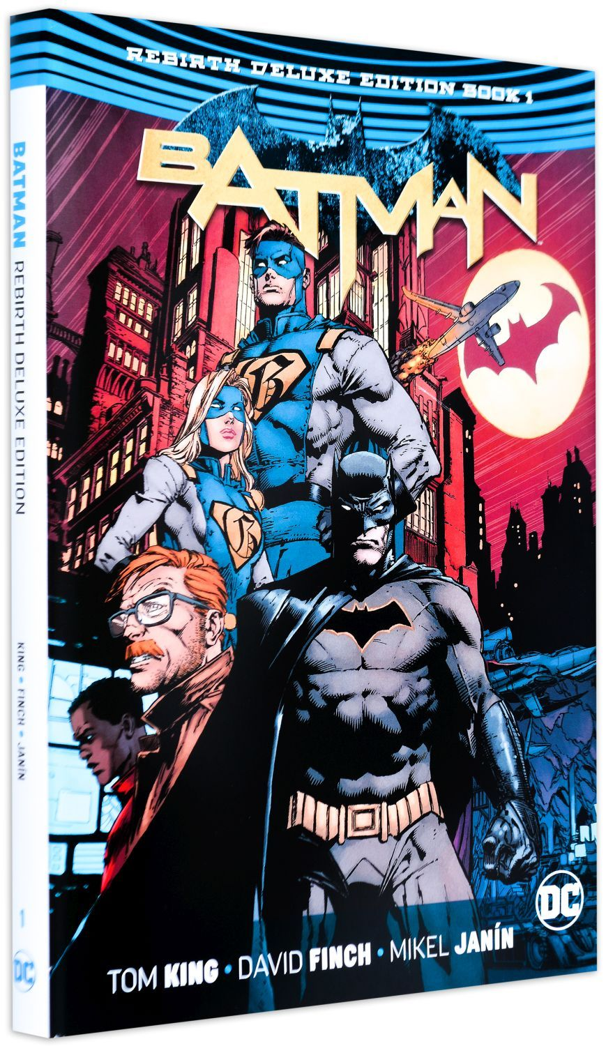 Batman: The Rebirth Deluxe Edition - Book 1 - 1