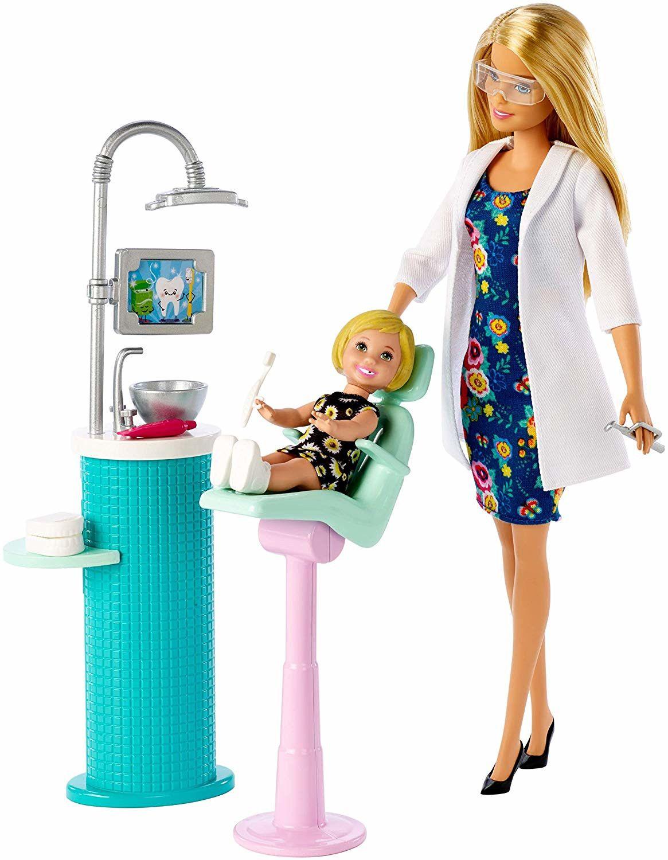 Игрален комплект Mattel Barbie - Зъболекарка - 2