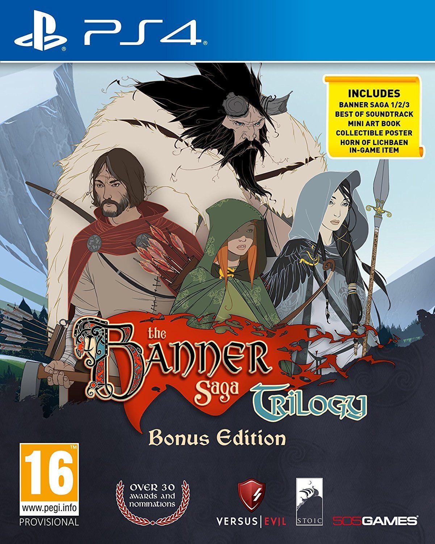 The Banner Saga Trilogy Bonus Edition (PS4) - 1