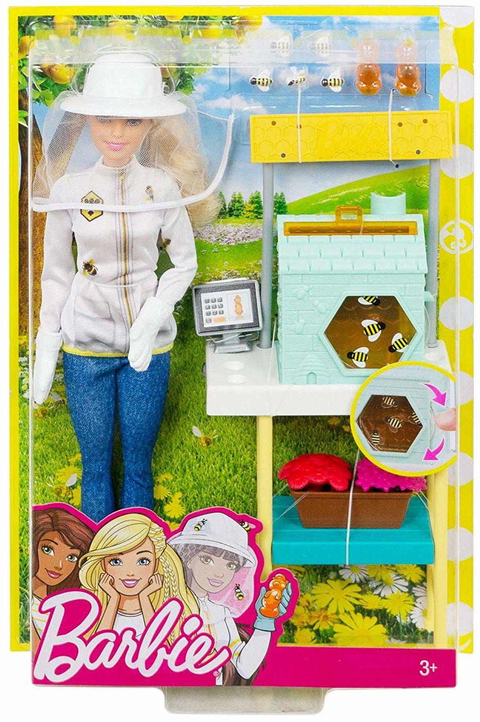 Игрален комплект Mattel Barbie - Пчеларка - 8