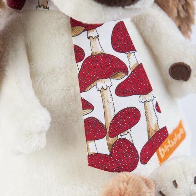 Плюшена играчка Budi Basa - Кученце Бартоломей, с вратовръзка, 33 cm - 4