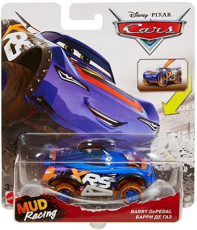 Количка Mattel Cars 3 Xtreme Racing - Barry DePedal, 1:55 - 1
