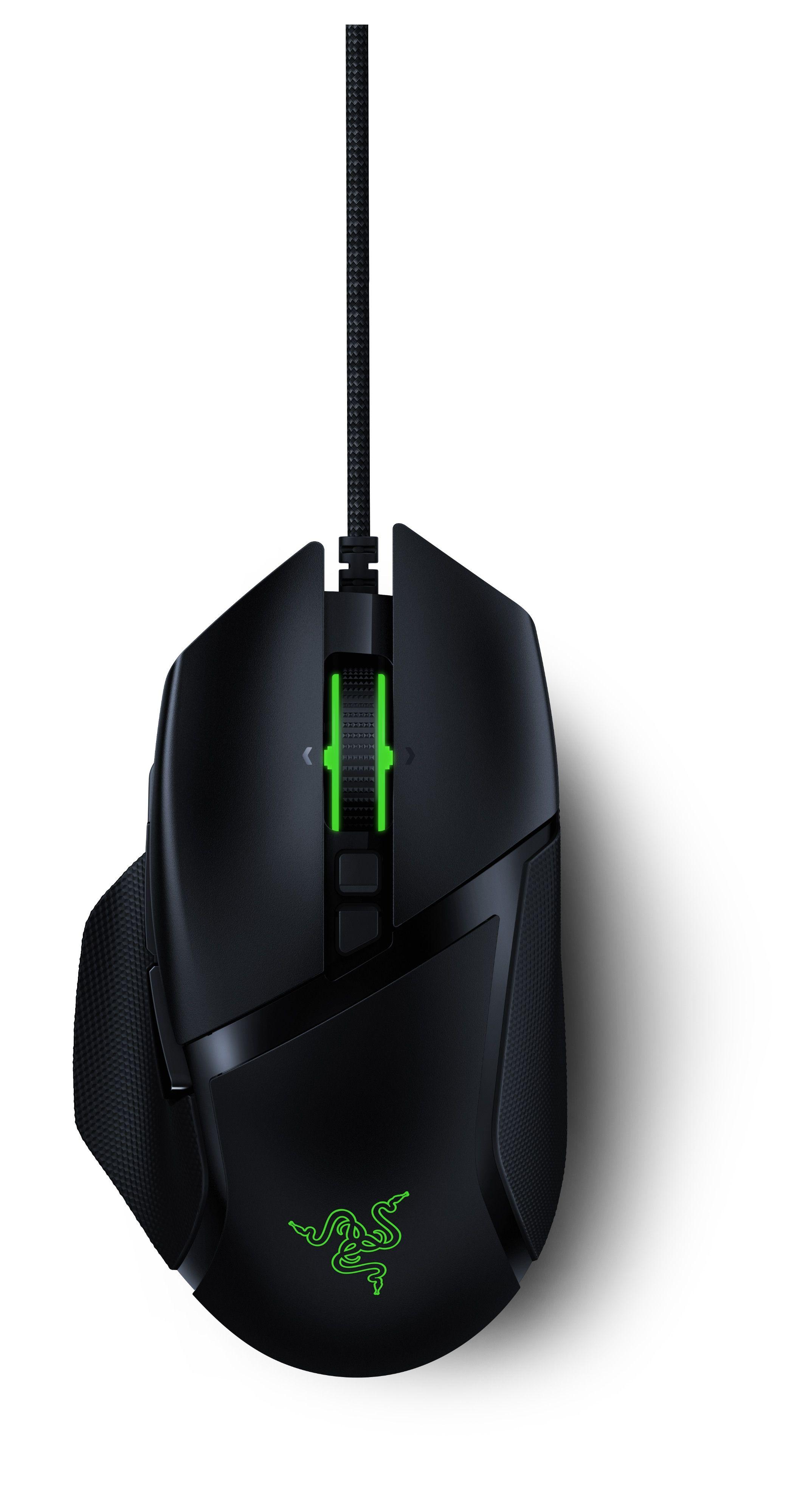 Гейминг мишка Razer - Basilisk V2, черна - 1