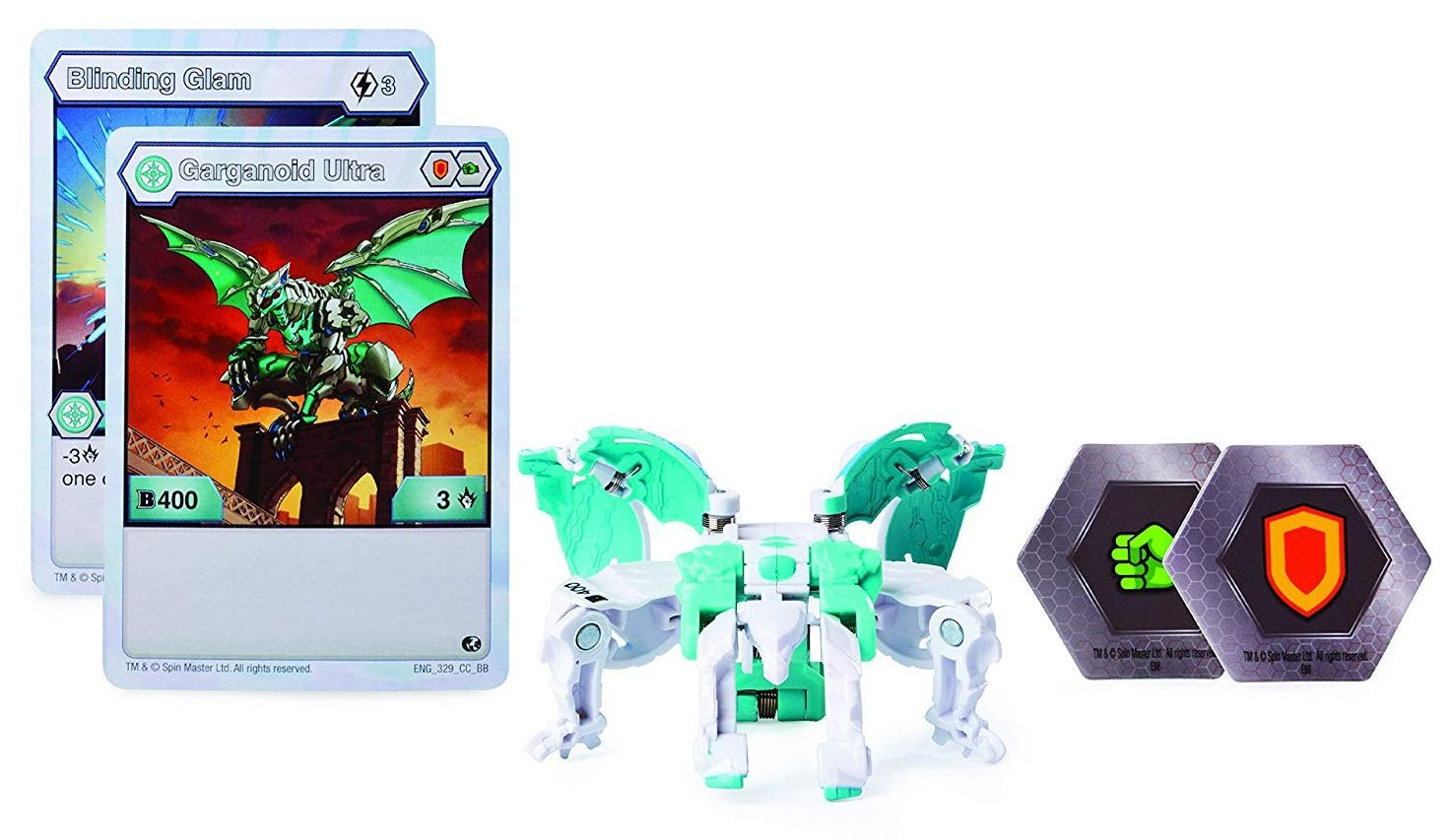 Игрален комплект Spin Master Bakugan Battle Planet - Ултра топче, асортимент - 5