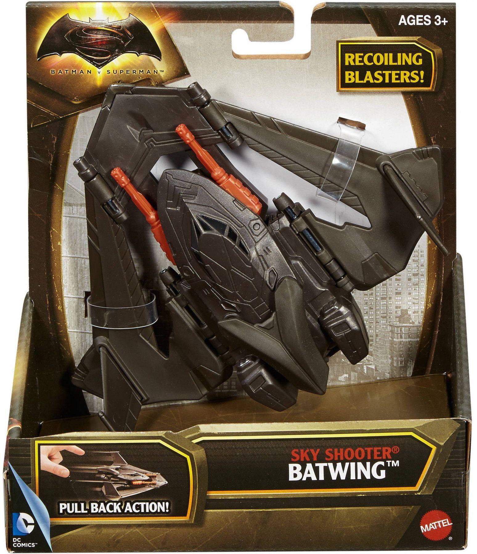 Самолетче Mattel - Batwing, 14cm - 2