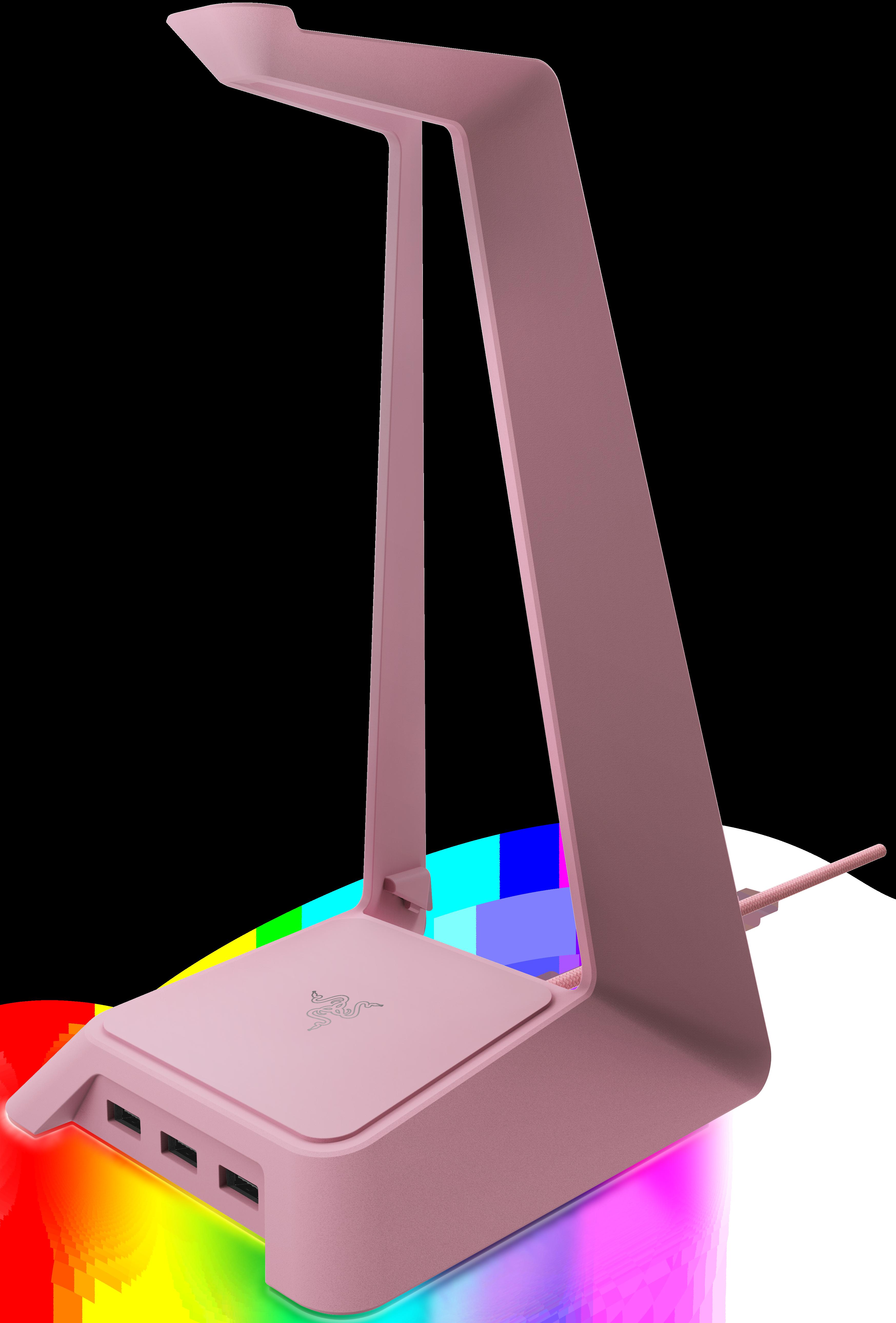 Гейминг аксесоар Razer Base Station Chroma - Quartz, розов - 1