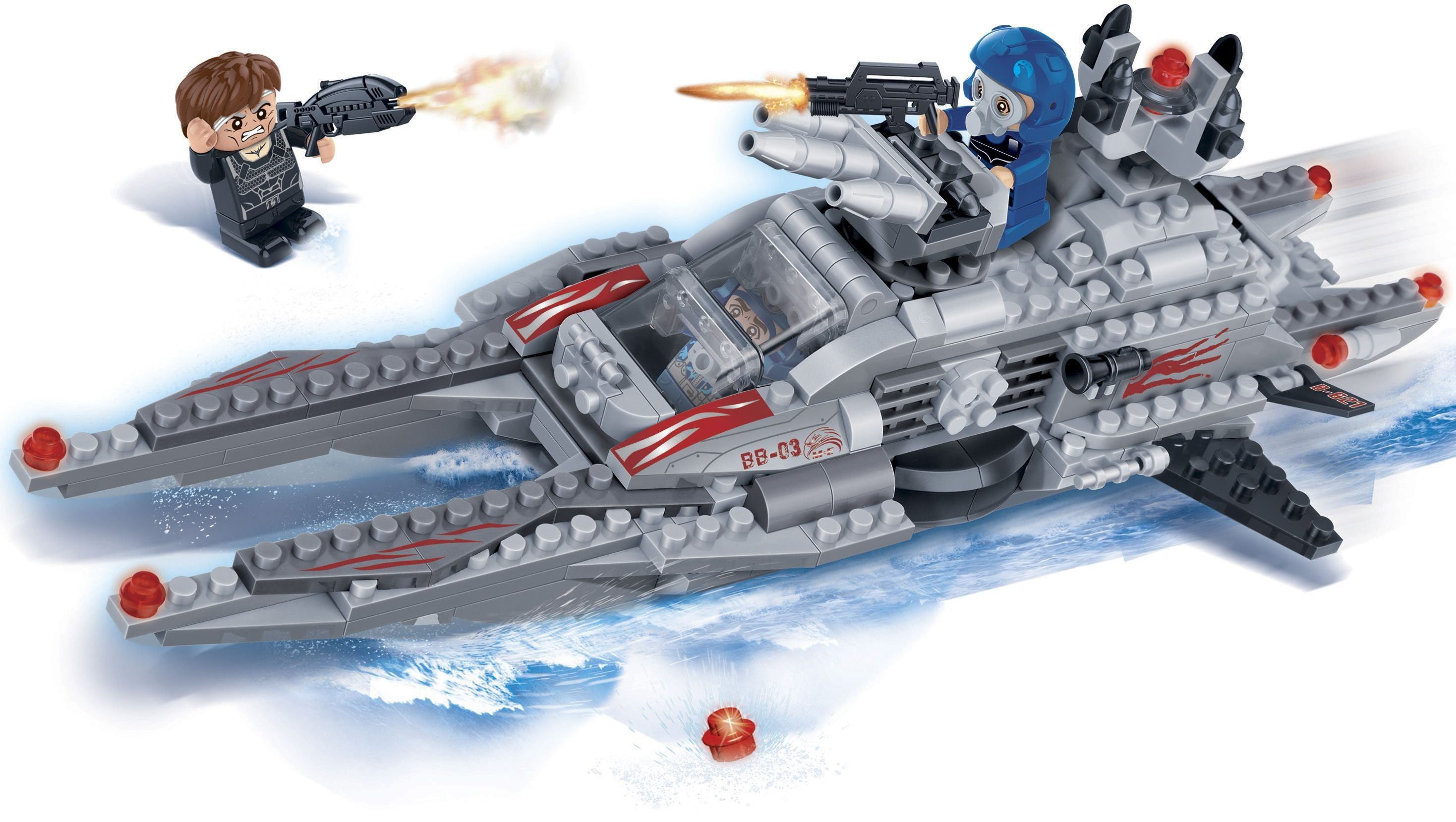 Конструктор BanBao Mission Eagle - Брегови патрул - 3