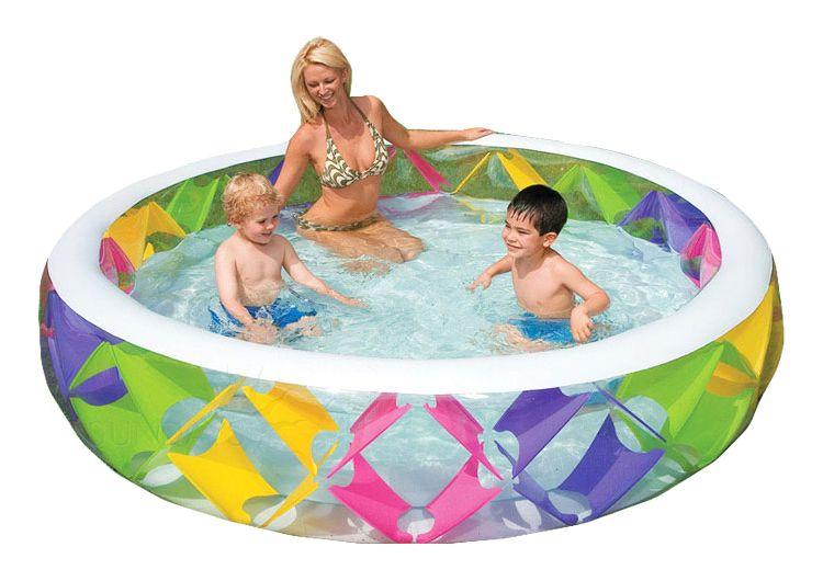 Детски надуваем басейн Intex с надуваемо дъно - 2