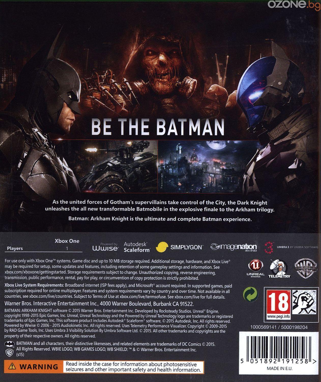 Batman: Arkham Knight (Xbox One) - 4