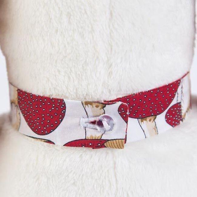 Плюшена играчка Budi Basa - Кученце Бартоломей, с вратовръзка, 33 cm - 3