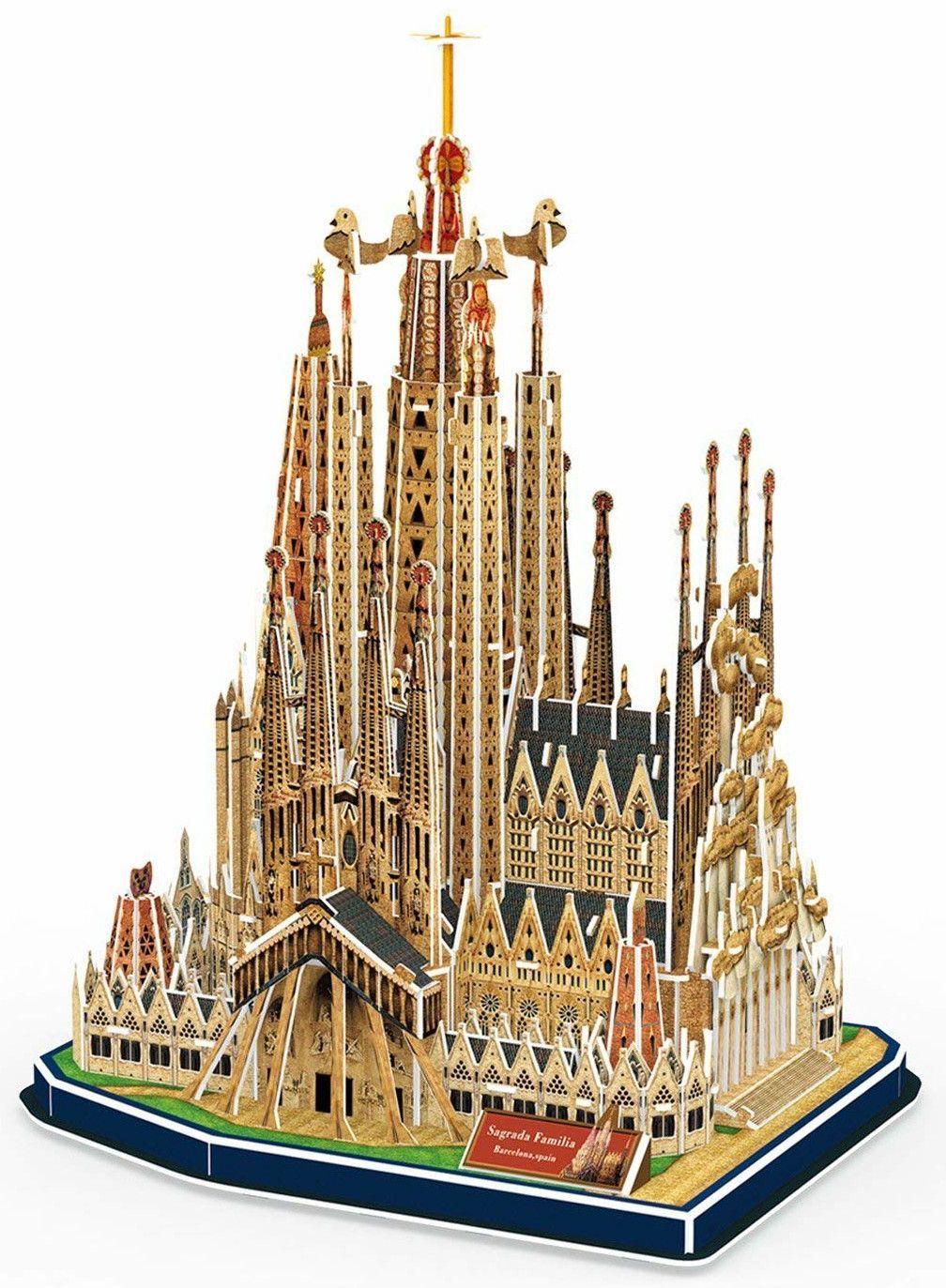 3D Пъзел Revell - Базиликата Саграда Фамилия - 1