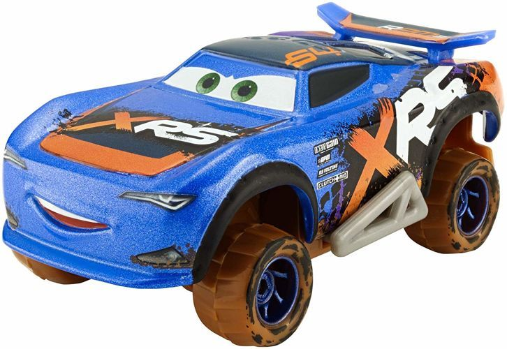Количка Mattel Cars 3 Xtreme Racing - Barry DePedal, 1:55 - 2