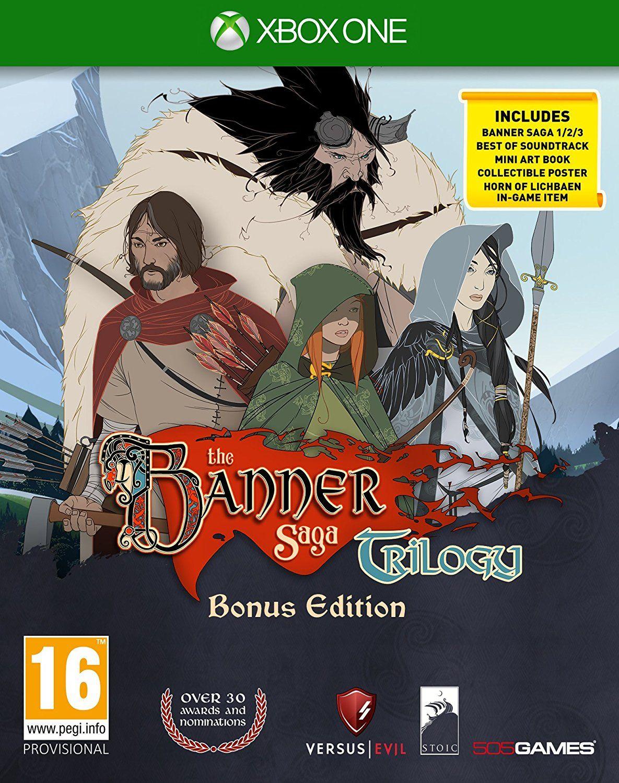 The Banner Saga Trilogy Bonus Edition (Xbox One) - 1
