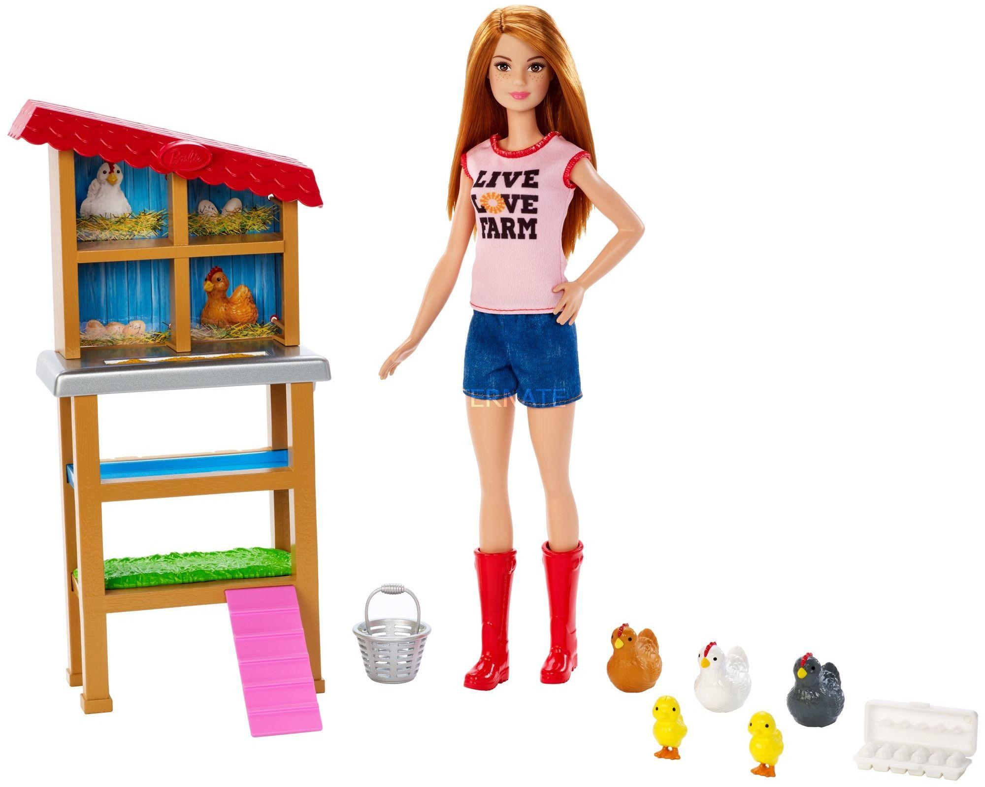 Игрален комплект Mattel Barbie - Фермерка - 2