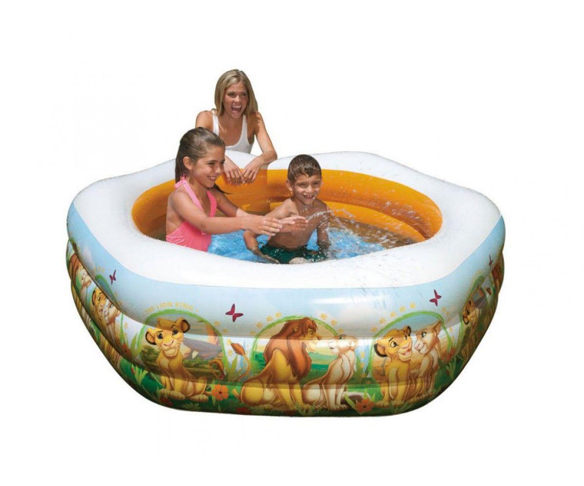 Детски надуваем басейн Intex - Цар Лъв - 1