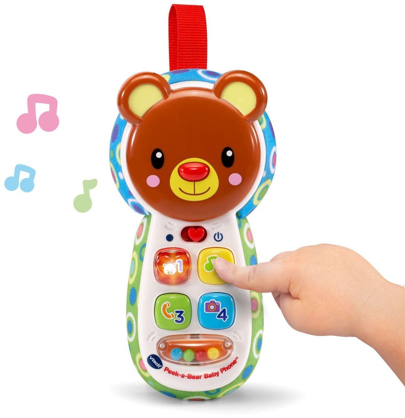 Бебешки играчка Vtech - Телефон, меченце - 2