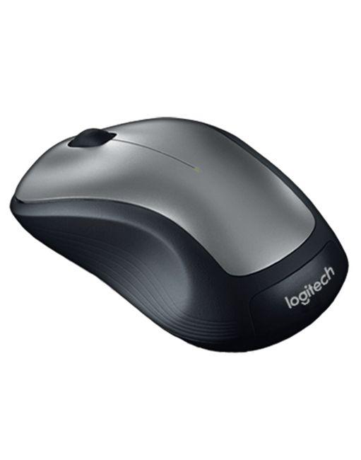 Безжична мишка Logitech - M310 - 2.4GHz, сива - 3