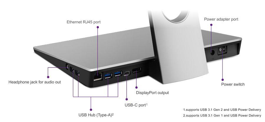 "BenQ PD2710QC, 27"" Wide IPS Ant-Glare, 5ms GTG, 1000:1, 20M:1 DCR, 350 cd/m2, 2560x1440 QHD, 100% sRGB, HDMI, DP, USB-C Docking, Height Adjustment, Pivot, Black&Silver - 20"