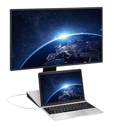 "BenQ PD2710QC, 27"" Wide IPS Ant-Glare, 5ms GTG, 1000:1, 20M:1 DCR, 350 cd/m2, 2560x1440 QHD, 100% sRGB, HDMI, DP, USB-C Docking, Height Adjustment, Pivot, Black&Silver - 8"