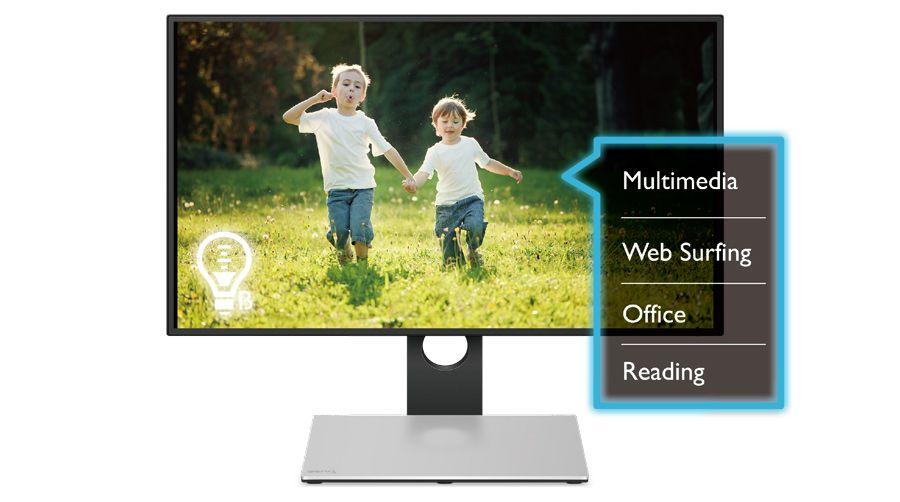 "BenQ PD2710QC, 27"" Wide IPS Ant-Glare, 5ms GTG, 1000:1, 20M:1 DCR, 350 cd/m2, 2560x1440 QHD, 100% sRGB, HDMI, DP, USB-C Docking, Height Adjustment, Pivot, Black&Silver - 14"