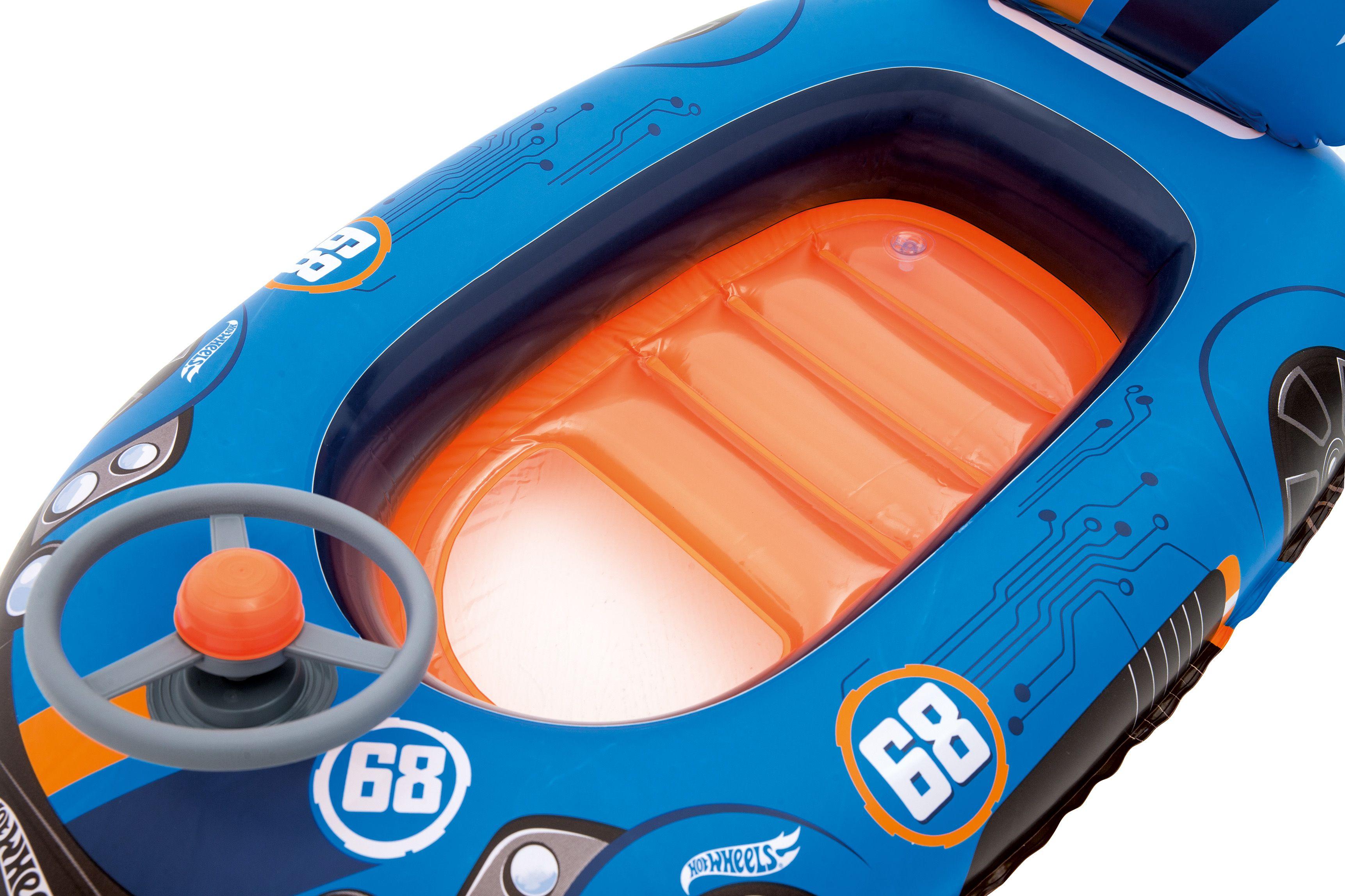 Надуваема лодка Bestway - Hot Wheels - 2