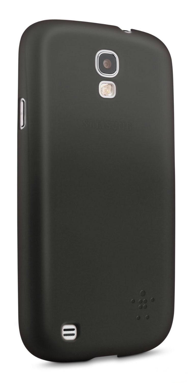 Калъф Belkin Micra Glam Matte - за Samsung Galaxy S4, черен - 3