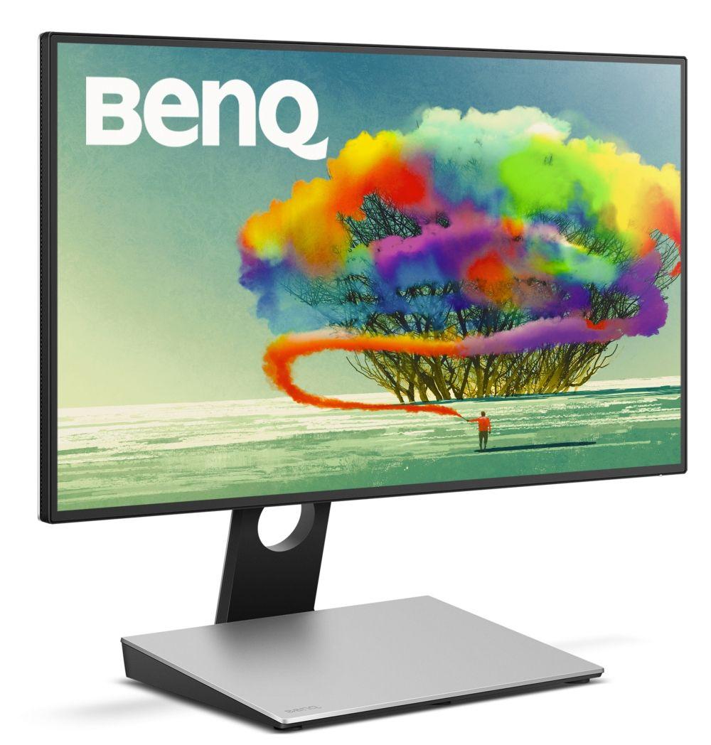 "BenQ PD2710QC, 27"" Wide IPS Ant-Glare, 5ms GTG, 1000:1, 20M:1 DCR, 350 cd/m2, 2560x1440 QHD, 100% sRGB, HDMI, DP, USB-C Docking, Height Adjustment, Pivot, Black&Silver - 2"