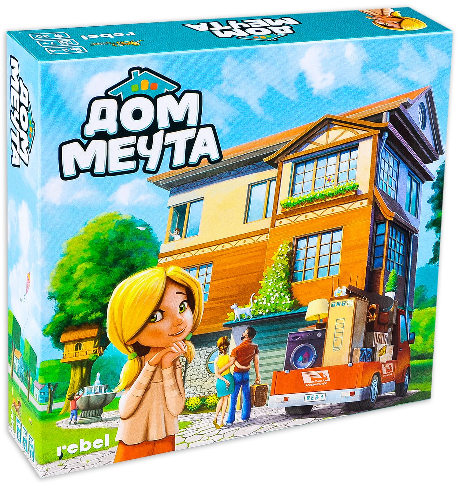 Настолна игра: Дом Мечта - 1