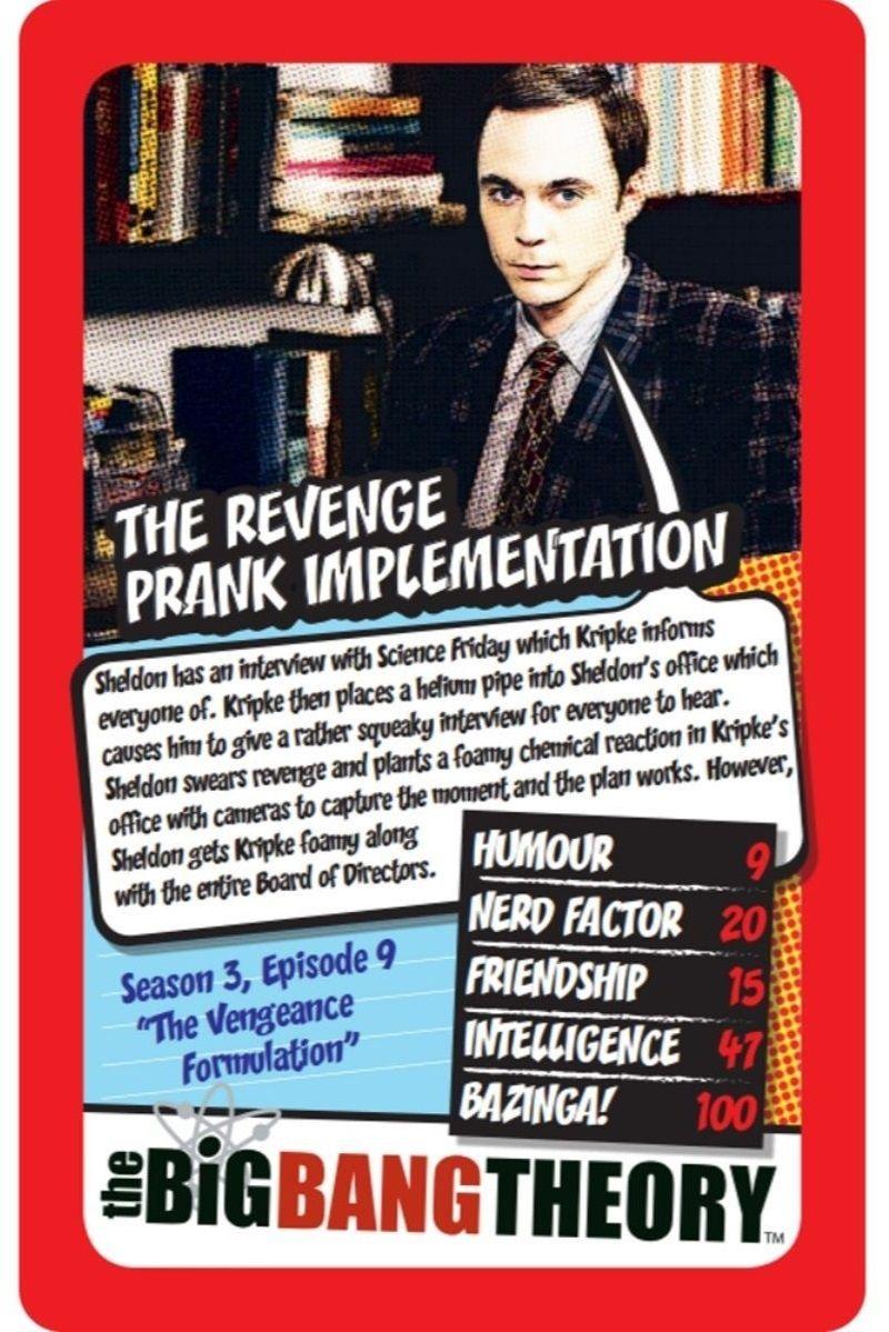 Игра с карти Top Trumps - The Big Bang Theory - 3