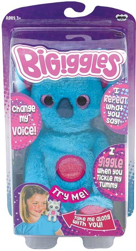 Интерактивна играчка Bigiggles - Повтарящо животинче Bruce, синя коала - 4
