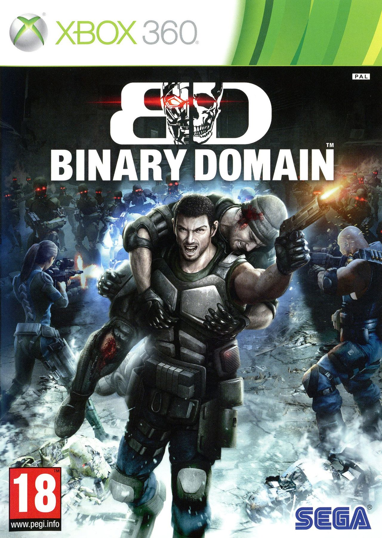 Binary Domain (Xbox 360) - 1