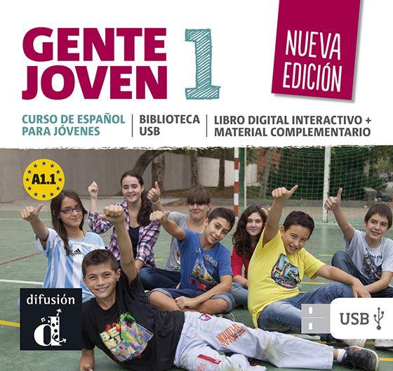 Biblioteca USB de Gente Joven 1 Nueva edicion - 1