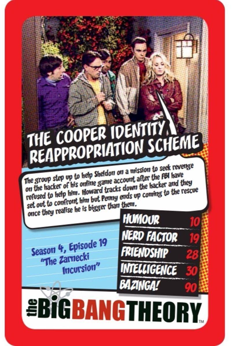 Игра с карти Top Trumps - The Big Bang Theory - 2
